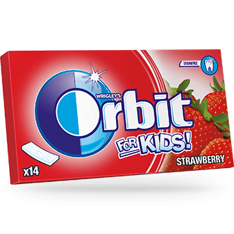 Orbit for kids strawberry