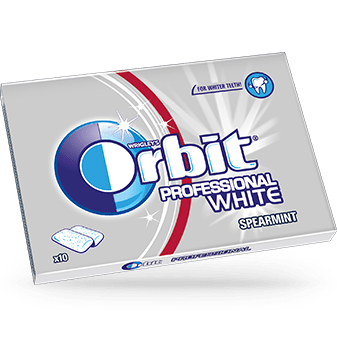 Orbit proffessional white spearmint